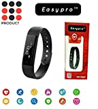 Easypro Fitnessmust-3 Smart Fitness Band Blood Pressure Heart Rate Monitor Smart Watch Bluetooth Smart Fitness Tracker For Ios Android Devices