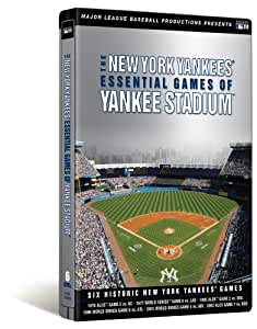 New York Yankees: Essential Games of Yankee Stadium (Steelbook Packaging)