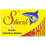 Shark Double Edge Razor Blades, Super Stainless, 20 X 5 Count (100 blades)