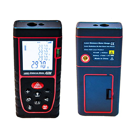 Alinshi 40m (131 Feet) Digital Laser Distance Meter
