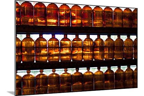 AllPosters Antique Glass Jars in Apothecary Window Photo Pri