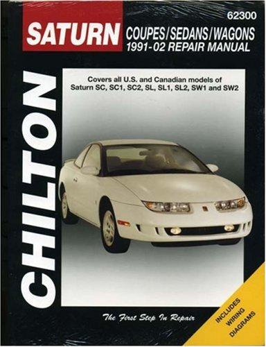 Saturn S-Series Coupes/Sedans/Wagons 1991-2002 Repair Manual (Haynes Repair (1991 Wagon)