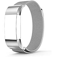 Tenker Fitbit Charge 2 Stainless Steel Band