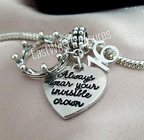 94cb83f71ab Image Unavailable. Image not available for. Color  16th Birthday jewelry  gift idea-Sweet 16 16th birthday charm bracelets and necklaces-Always