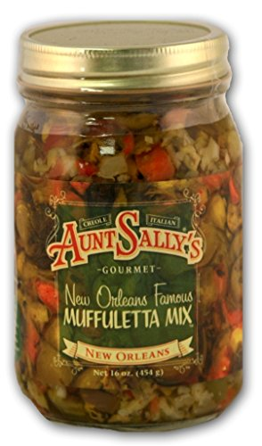 Aunt Sally's New Orleans Famous Muffuletta Mix, 16 - Orleans New Salad
