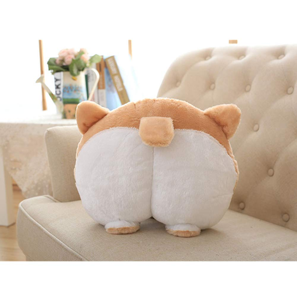 Funny Cute Corgi Butt Sofa Cushion Decoration Pillow Plush Toy Doggy Stuffed Toys