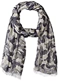 Armani Jeans Men's Camouflage Scarf, blue, One Size