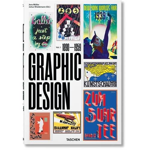 The History of Graphic Design: 1: 1890-1959
