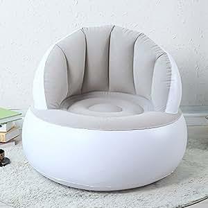 Amazon Com Cute Inflatable Air Bean Bag Chair For
