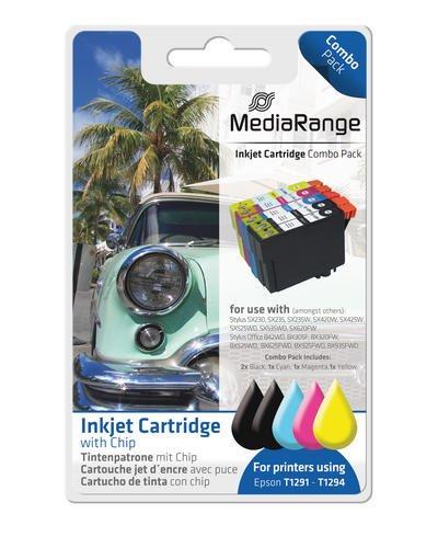 MediaRange MRET129 Cartucho de Tinta - Cartucho de Tinta para ...