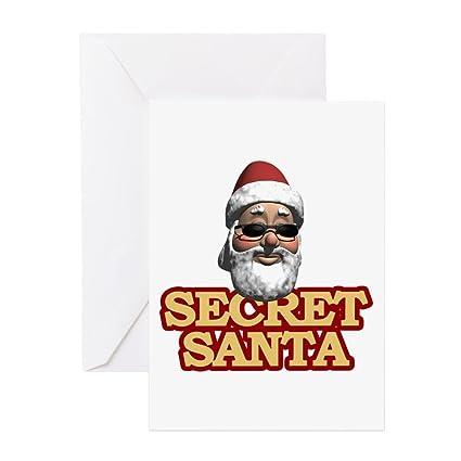 Amazon cafepress secret santa greeting card note card cafepress secret santa greeting card note card birthday card blank inside m4hsunfo