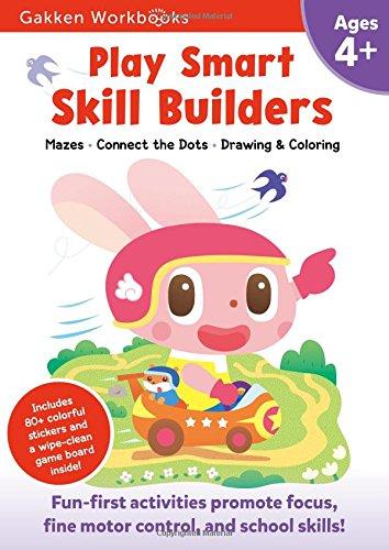 Play Smart Skill Builders 4+: For Ages 4+ (Gakken Workbooks)