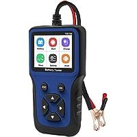 Horoshop Analisador de bateria de carro de 12 V 100 a 2000 CCA para impressão USB de bateria de chumbo-ácido AGM Gel EFB