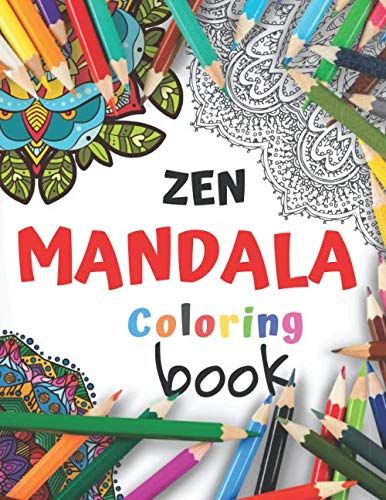 Zen Mandala Coloring Book