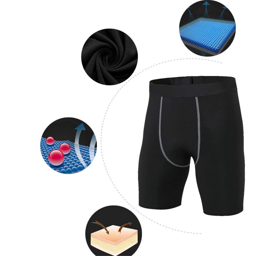 MMRM Pantalons de Compression de Running Homme,Gym Pantalons de Sport Fitness Legging Homme