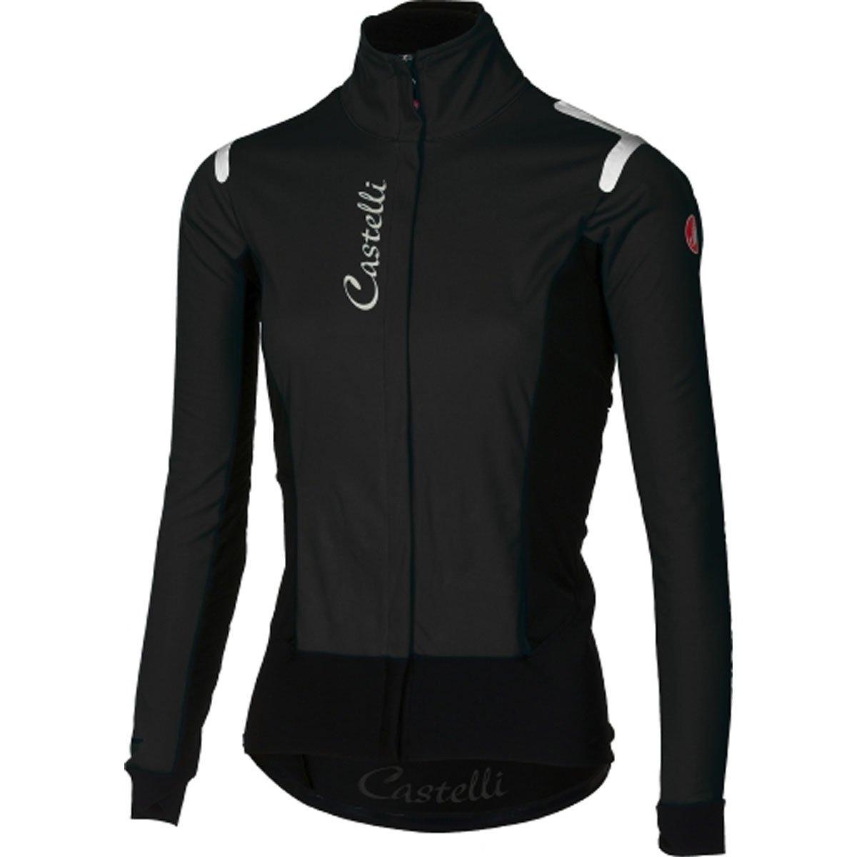 CastelliアルファRos Jacket – Women 's B076ZQZB6M Small|Light Black/Black Light Black/Black Small