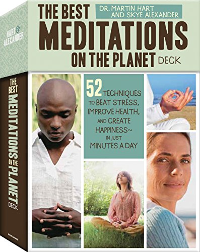 The Best Meditations on the Planet Deck: 52 Techniques to Beat Stress, Improve Health, and Create Happiness - in just Minutes a Day (The Best Meditations On The Planet)