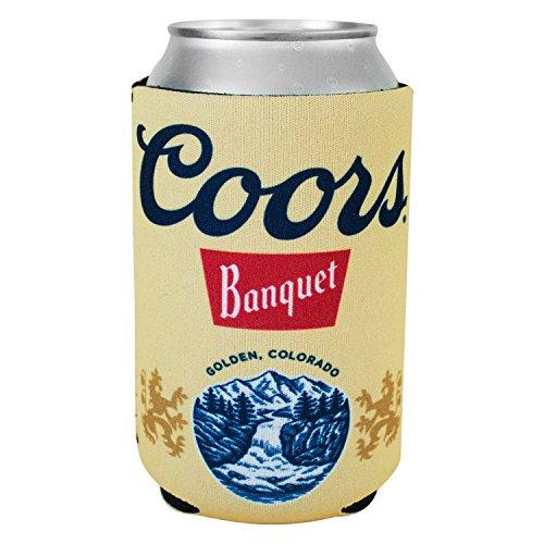 Coors Banquet Beer - Coors Banquet Beer Can Insulator Cooler