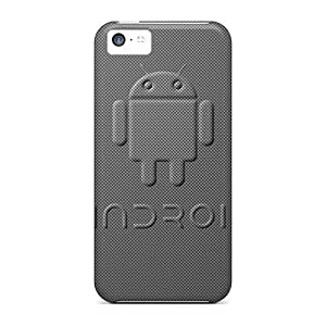 Durable Case For The Iphone 5c- Eco-friendly Retail Packaging(3d Android Carbon) Kimberly Kurzendoerfer