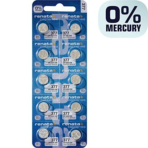2032 Battery (CR2032/ DL2032/ E-CR2032/ SB-T51/ LF1/ 2V) Lithium 3v (box of 100 Batteries) by MBS (Image #1)
