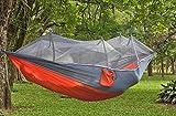Mosquito Asphyxiation Hammock Flagstaff Lawson Blue Ridge Hammock (Gray and orange)