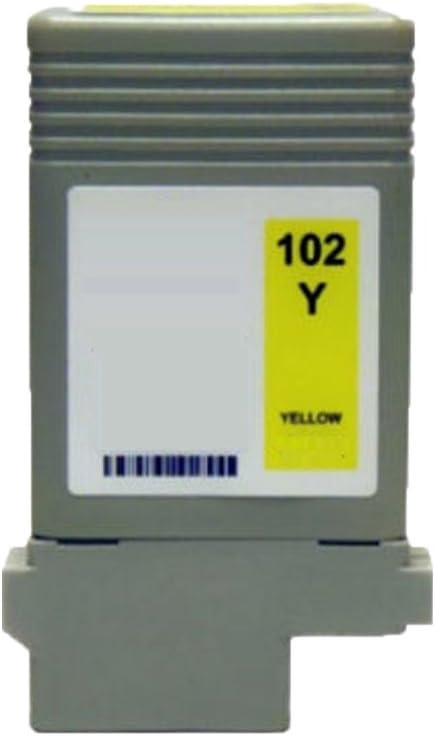 NYT Compatible High Yield Inkjet Cartridge Replacement for PFI-102MBK PFI-102BK PFI-102C PFI-102M PFI-102Y for Canon ImagePROGRAF iPF 500 Matte Black, Black, Cyan, Magenta, Yellow, 5-Pack 510 600