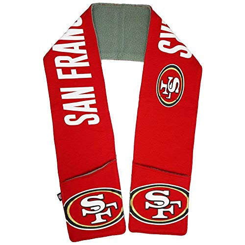 G-III NFL Team Accumulation Unisex Scarf (San Francisco 49ers)