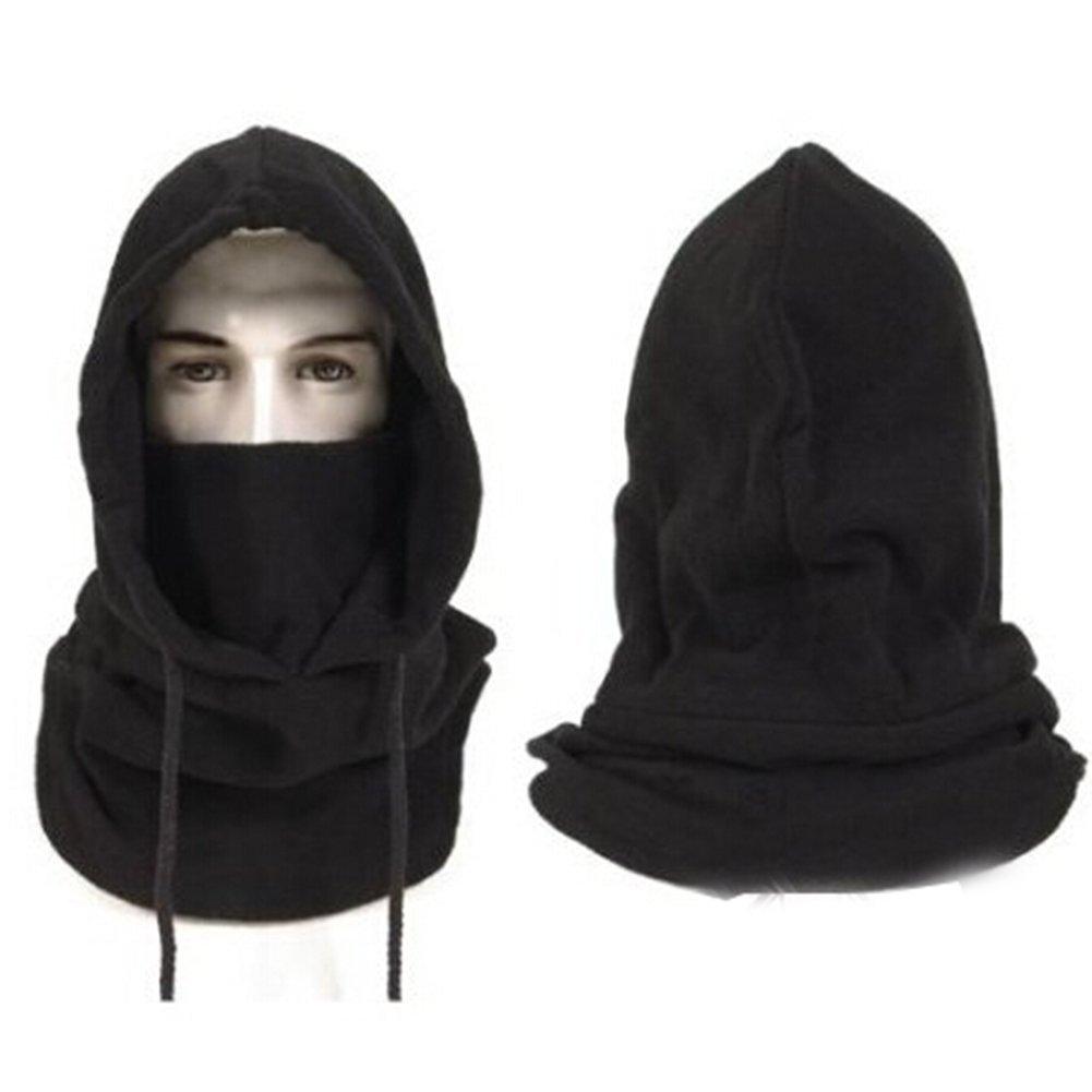Winter Hat for Men Black Face Mask Balaclava Mask Snow Hat Hood Windproof Bele