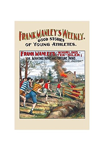Buyenlarge Frank Manley Weekly: Frank Manley's Whirling Ten Miler Print (Unstretched Canvas Giclee 20x30)