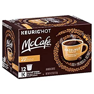 Amazon Com Mccafe Light Roast Hazelnut Keurig K Cup