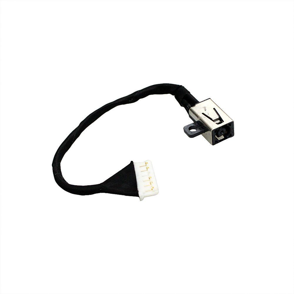 GinTai DC Power Jack w/Cable for Dell Inspiron i3567-5664 i3567-5185BLK-PUS i3567-5820BLK i3567-5664BLK-PUS i3567-3919BLK 450.09W05.0021 15-3567 FWGMM 0FWGMM 450.09W05.0001 by GinTai (Image #6)