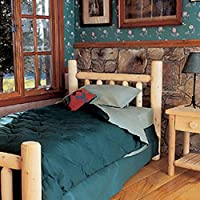 Rustic Natural Cedar Furniture 10038CH Handcrafted Bed (Head Only), Queen/60, Natural
