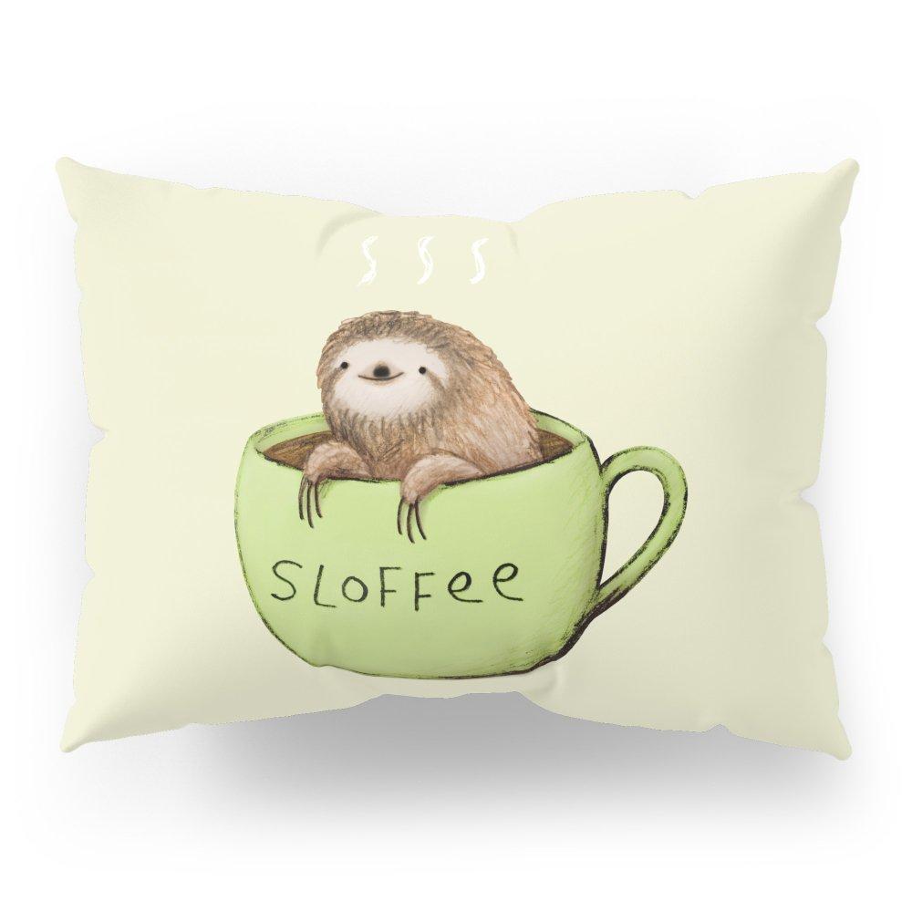 Society6 Sloffee Pillow Sham Standard (20'' x 26'') Set of 2