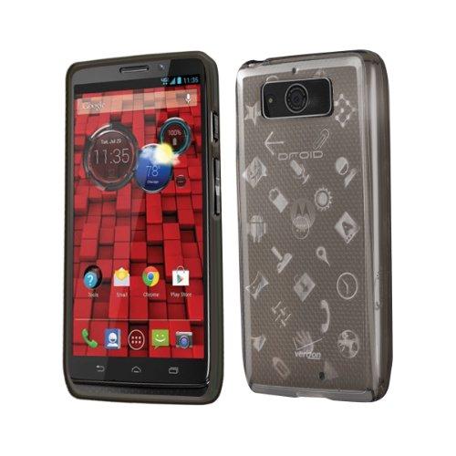 Droid Mini Case, Cruzerlite Experience TPU Case (EXP Case) Compatible for Motorola Droid Mini (Late 2013)  - Smoke