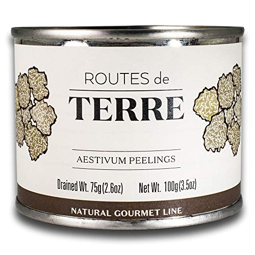 - Black Truffle Peelings Slices Carpaccio (Real Shaved Truffles Preserved in Natural Juices, Delicious for Gourmet Italian and French Cooking)