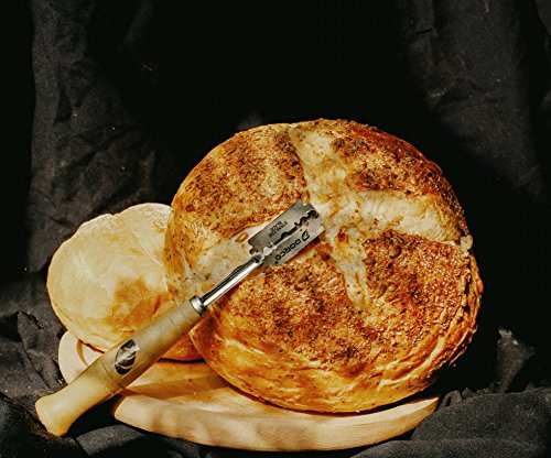 DiBread Bread Scoring Lame | Dough Scoring Tool | Premium Hand Crafted Bread Lame with 5 Blades Included | with Authentic Leather Protective Cover and Cotton Bag by by DiBread (Image #8)
