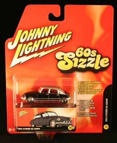1963 FORD GALAXIE * 60s Sizzle * Johnny Lightning 2006 Die-Cast Vehicle #10 of 16]()