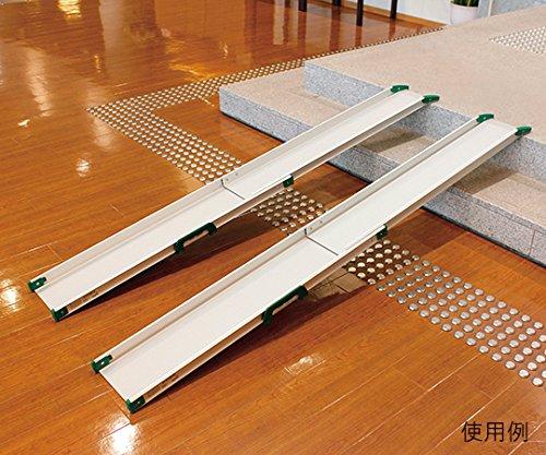 パシフィックサプライ7-1612-04テレスコピックスロープ(車椅子スロープ)142.7~250cm B07BD342GZ