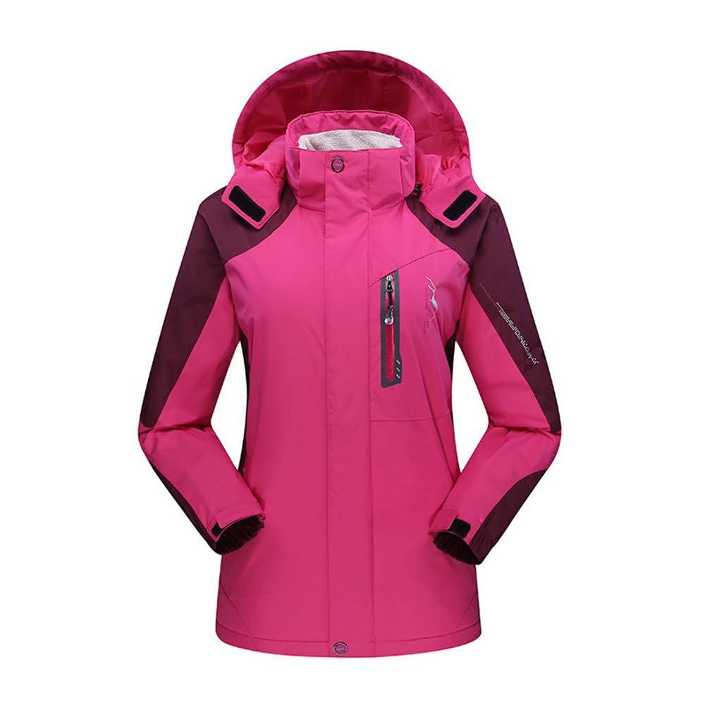 AiNaMei Damen-Outdoorjacken sowie warme Skianzugskleidung für Bergsteiger aus Samt
