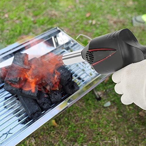 BBQ Ventilator - Draagbare Handmatige Bediende BBQ Ventilator Luchtventilator voor Outdoor Camping Picknic Grill Barbecue Tool Bx0KJPaT