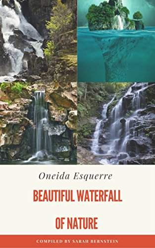 Oneida Art - waterfall photography fountain Canyon Waves nature relaxation Poster Wall Decor Art