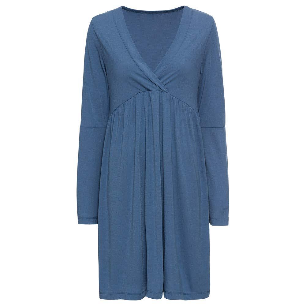 Iyyvv レディース B07gxjrbd1 Medium ブルー ブルー Medium Dress レディース