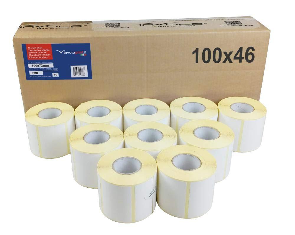 20 rollos - 18000 etiquetas 100x46 mm - Etiquetas Adhesivas ...