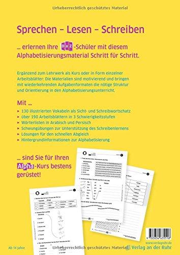 Übungen zur Alphabetisierung von DaZ-Lernern: Kopiervorlagen für ...