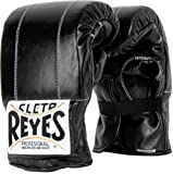 Cleto Reyes Leather Boxing Bag Gloves - Small - Black
