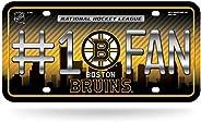 NHL #1 Fan Metal Auto Tag