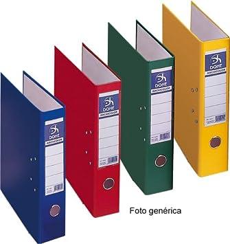 Dohe Archicolor - Archivador folio lomo ancho, color amarillo: Amazon.es: Oficina y papelería