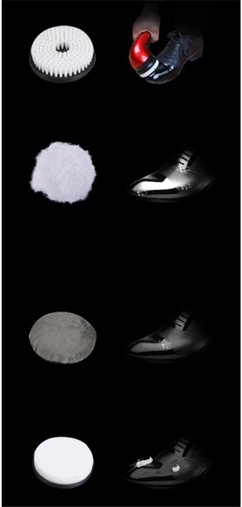 Cepillo De Limpieza del Asiento De Carro Pulidora De Zapatos M/áquina El/éctrica Port/átil del Brillo del Zapato del PDA para El Sof/á De Cuero