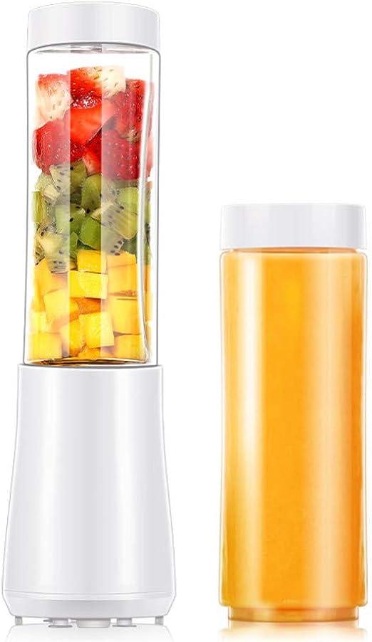 Batidora de Vaso Individuales Portátil Mini Batidora Electrica Cocina Mezclador Eléctrico Licuadora para Zumo de Verduras y Frutas con Vaso de 500 ml, Incluye Cuchillo NV-014: Amazon.es: Hogar