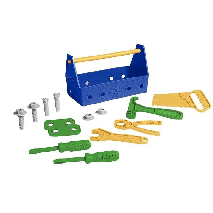 Werkzeugkasten Kinderspielzeug - Spielzeug Werkzeugkasten - Green Toys Werkzeug Set